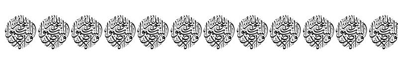 Preview of Aayat Quraan_034 Regular