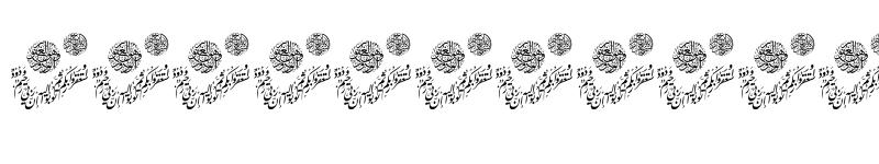 Preview of Aayat Quraan_039 Regular