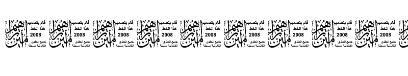 Preview of My Font Mohammad1 Regular